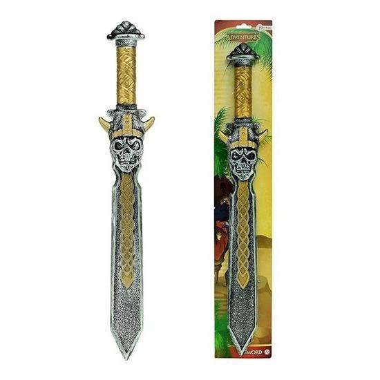 Piraten speelgoed zwaard goud 63 cm