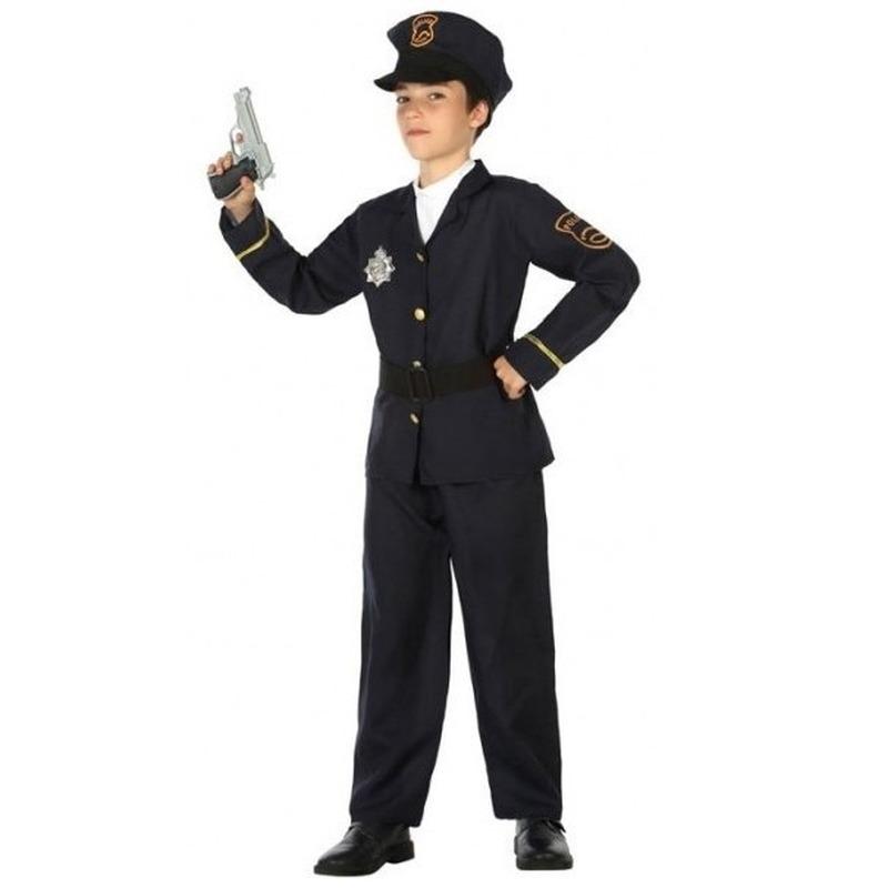 Politie agent pak-verkleed kostuum voor jongens