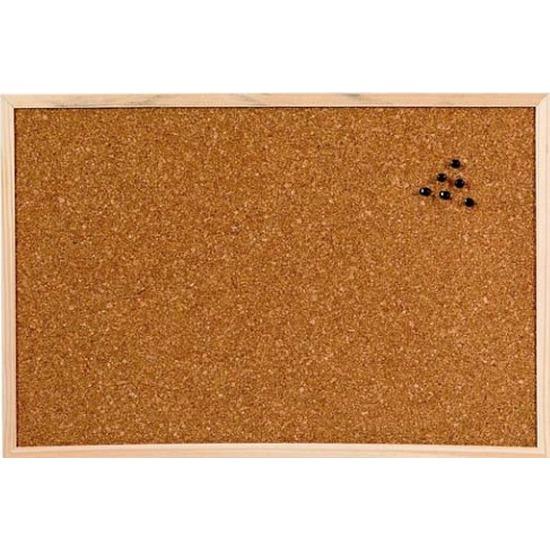 Prikbord van kurk 45 x 30 cm