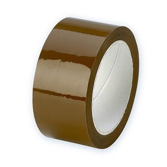 Rollen verpakkingstape bruin 50 mm x 66 meter