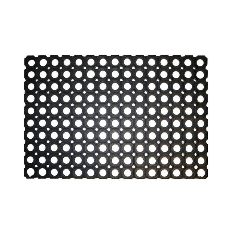 Rubberen deurmat-buitenmat 60 x 40 cm