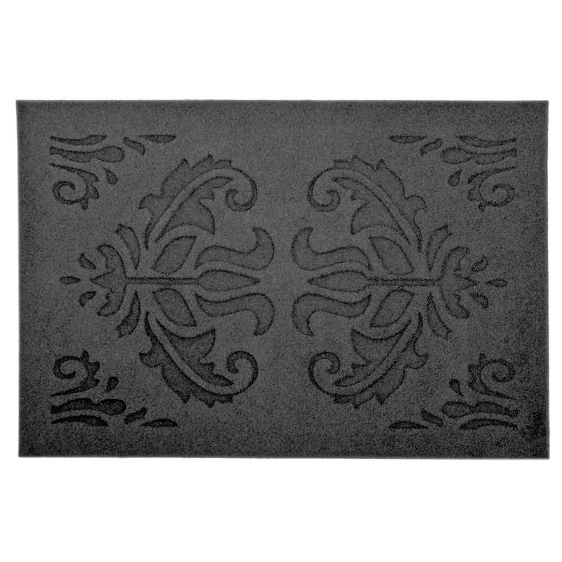 Rubberen deurmat relief klassiek 60 x 40 cm