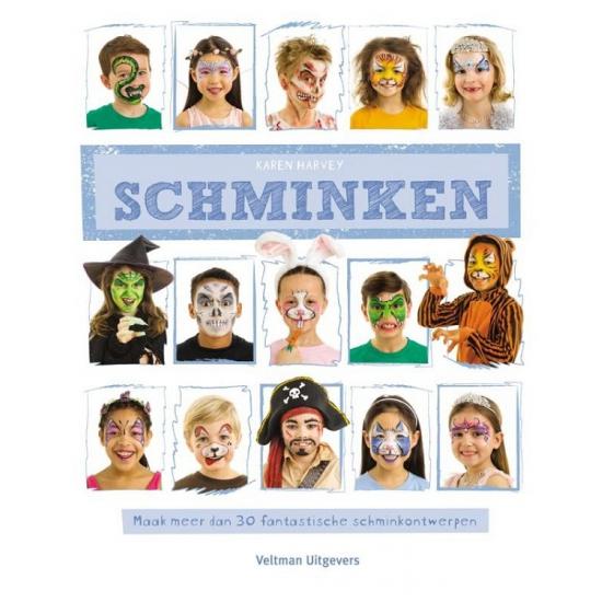 Schminkboek met 30 ontwerpen