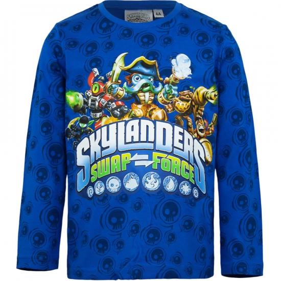 Skylander t-shirt blauw