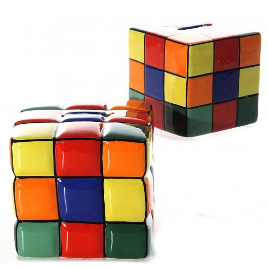Spaarpot kubus 10 cm