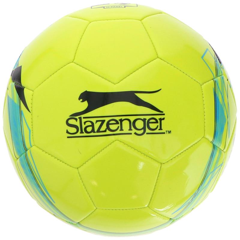 Speelgoed voetbal geel 21 cm-maat 5 voor kinderen-volwassenen