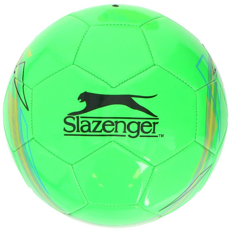 Speelgoed voetbal groen 21 cm-maat 5 voor kinderen-volwassenen