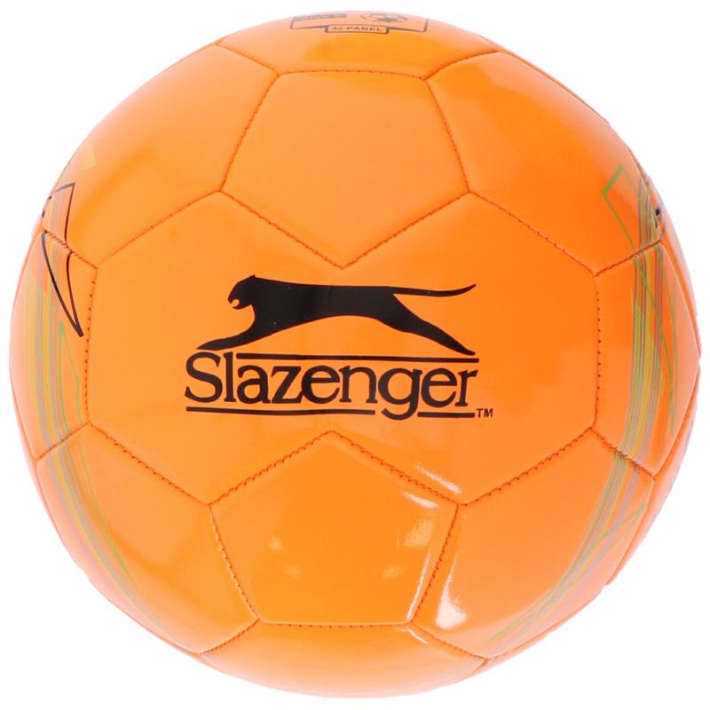 Speelgoed voetbal oranje 21 cm-maat 5 voor kinderen-volwassenen