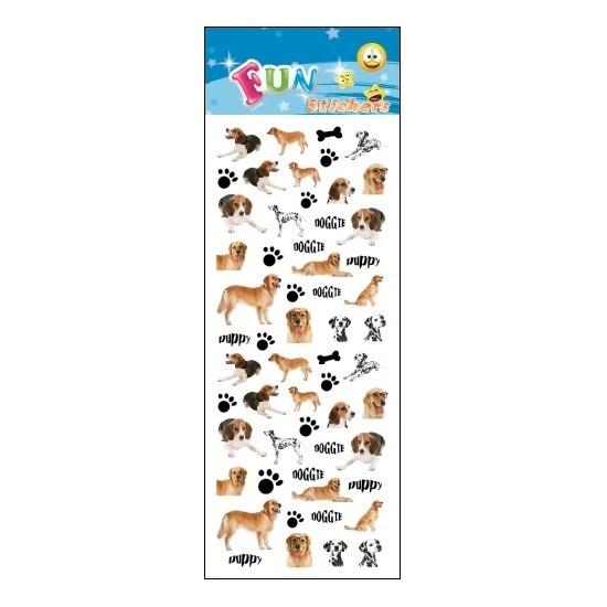 Stickervel honden