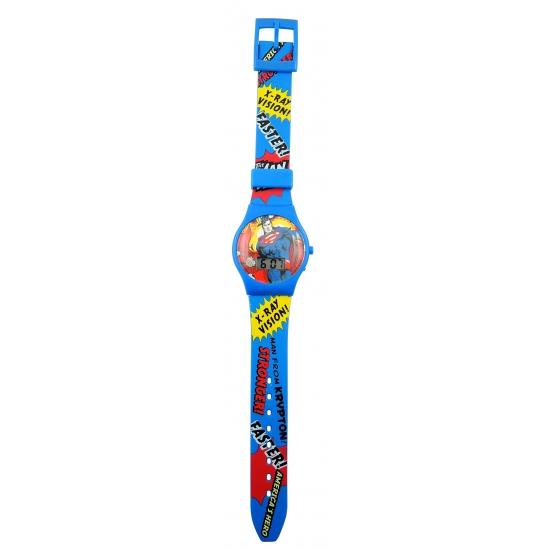 Superman horloge digitaal