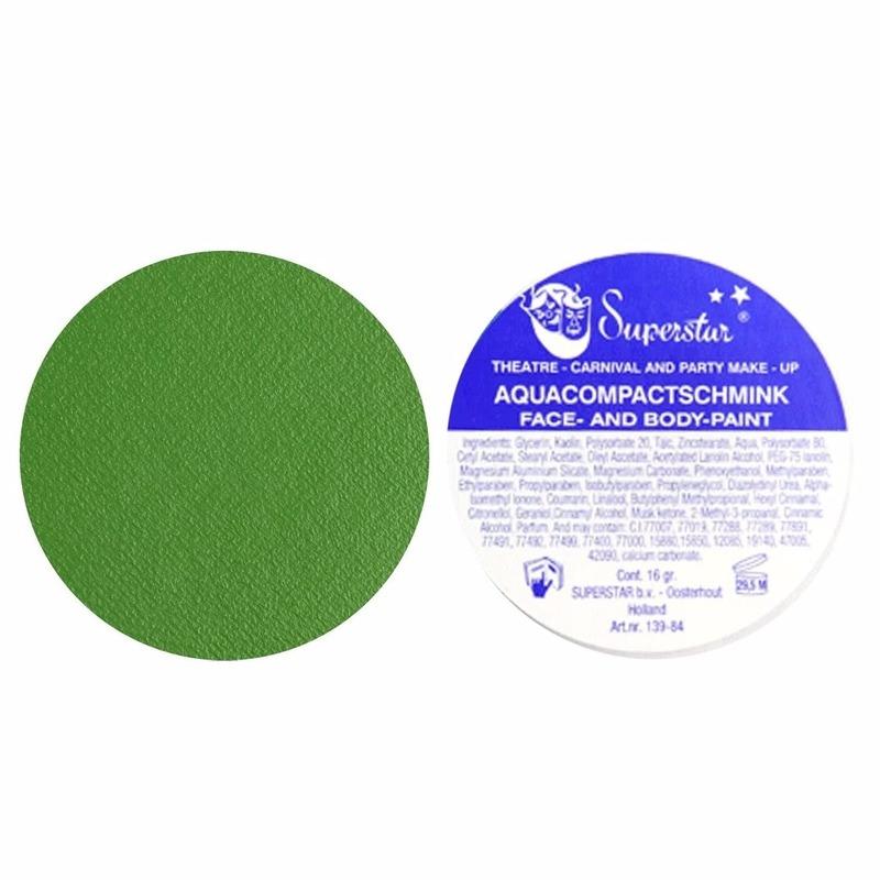 Superstar schmink groen