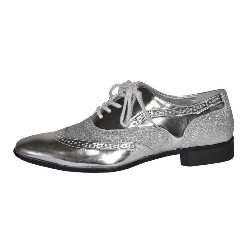 Coole gangster schoenen krokodil zwart wit   Coole.eu