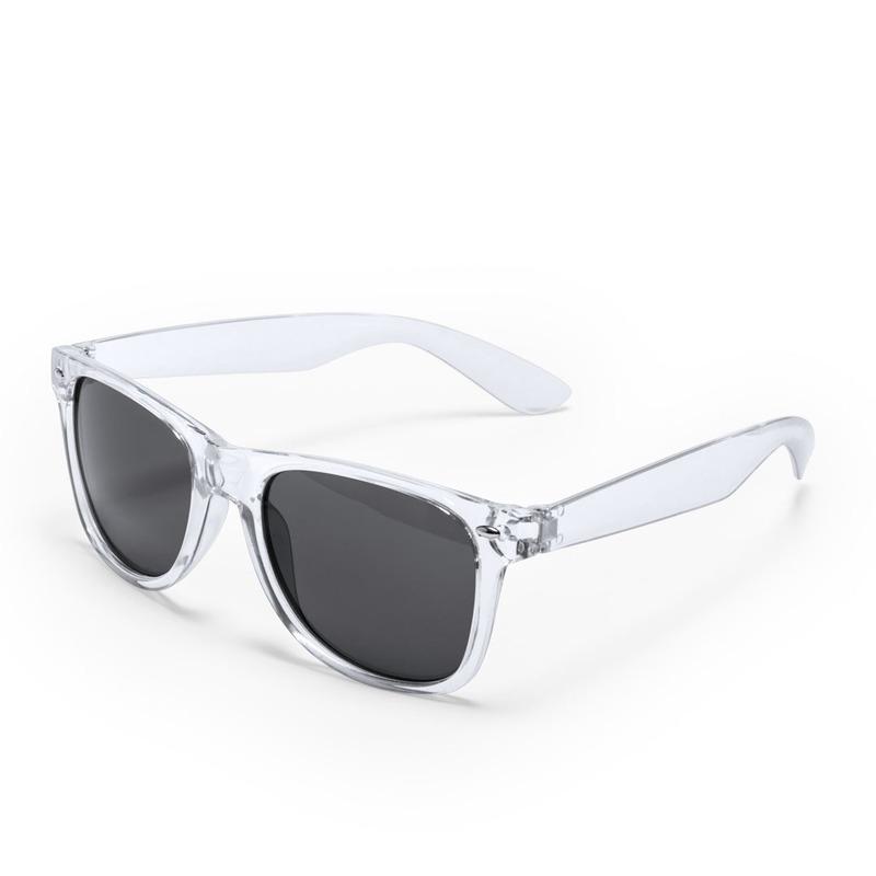 Transparante verkleed accessoire zonnebril voor volwassenen