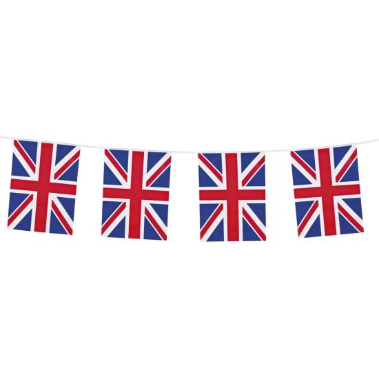Union Jack vlaggenlijn 10 meter