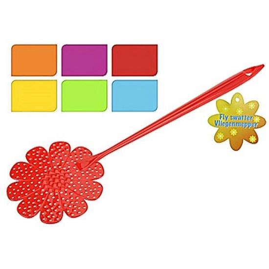 Vliegenmepper bloem. vliegenmepper in de vorm van een bloem.