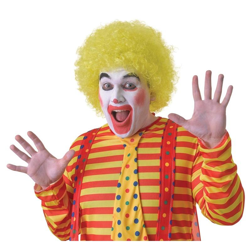 /feest-artikelen/verkleed-accessoires/pruiken-baard-snorren/feest-pruiken/clowns-pruiken