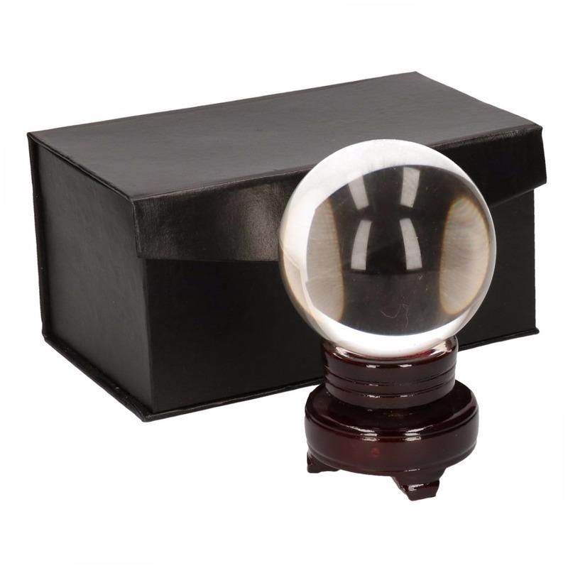 Waarzegsters deco glazen bol 8 cm