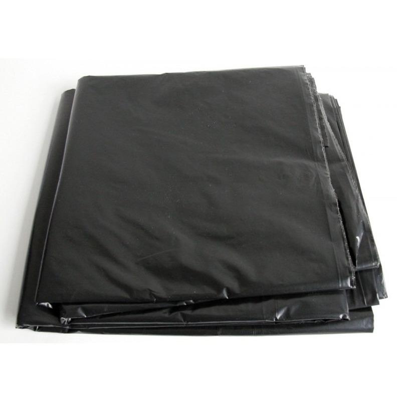 Zwart afdekzeil-dekzeil 4 x 6 meter