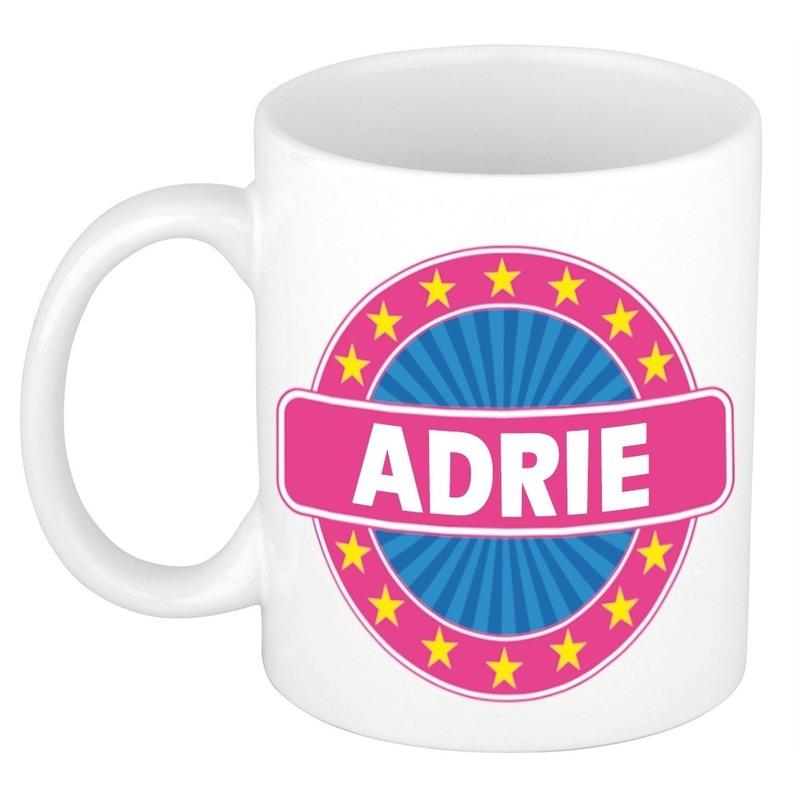Adrie naam koffie mok-beker 300 ml