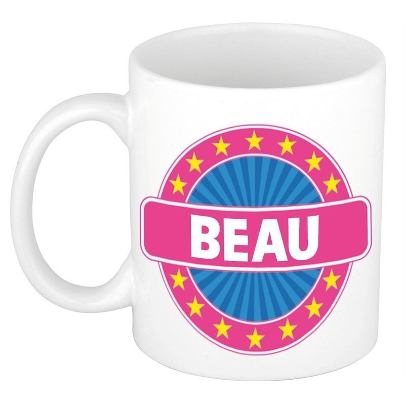 Beau naam koffie mok-beker 300 ml