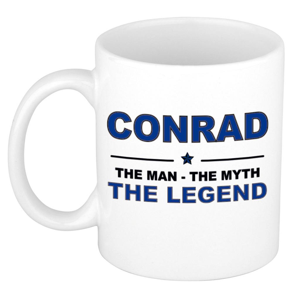 Conrad The man, The myth the legend cadeau koffie mok-thee beker 300 ml