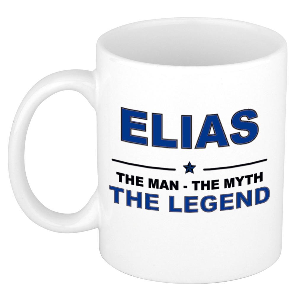 Elias The man, The myth the legend cadeau koffie mok-thee beker 300 ml