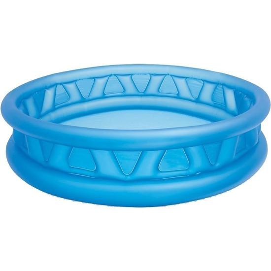 Intex rond opblaasbaar zwembad 188 cm blauw