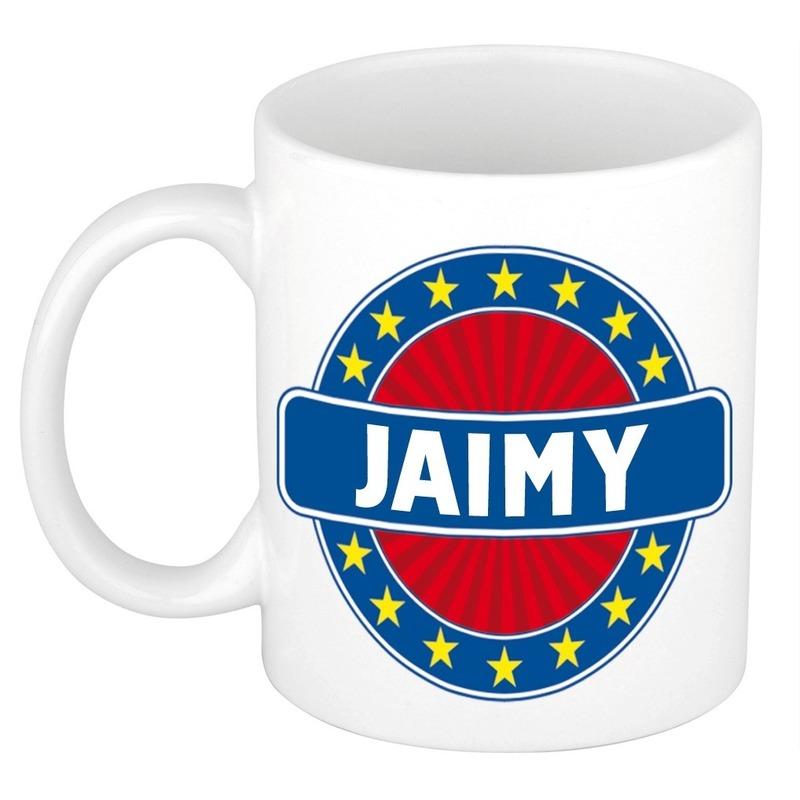 Jaimy naam koffie mok-beker 300 ml