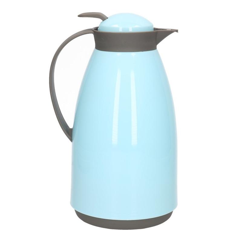 Koffiekan-isoleerkan 1 liter blauw