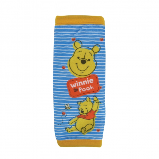 Pluche Winnie de Poeh auto gordelhoes-gordelbeschermer 29 cm