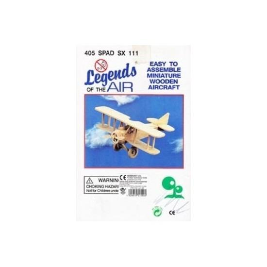 Vliegtuig bouwpakket 405 spad