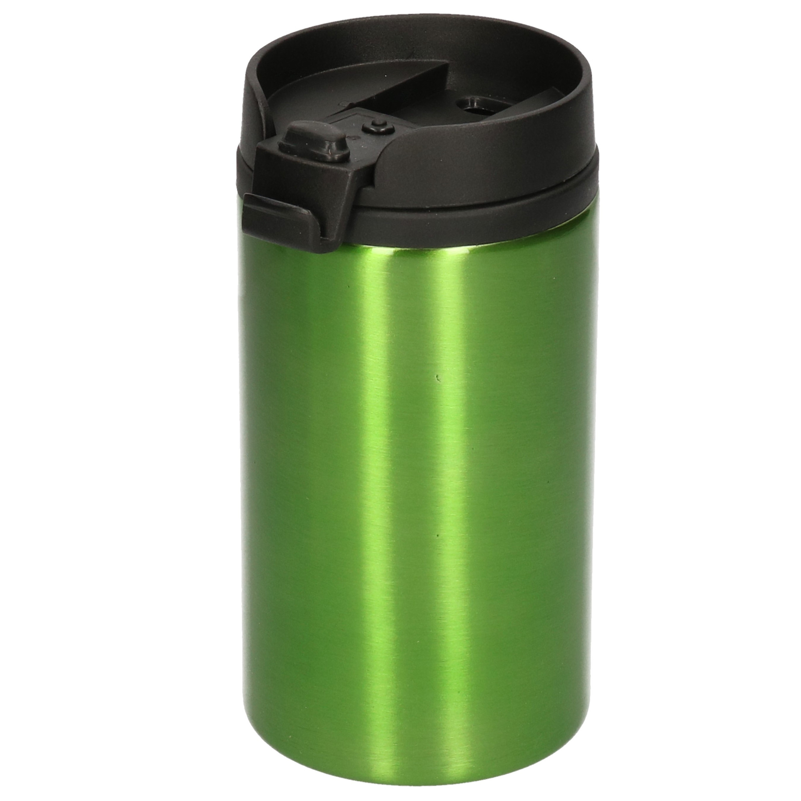 Warmhoudbeker metallic-warm houd beker groen 320 ml
