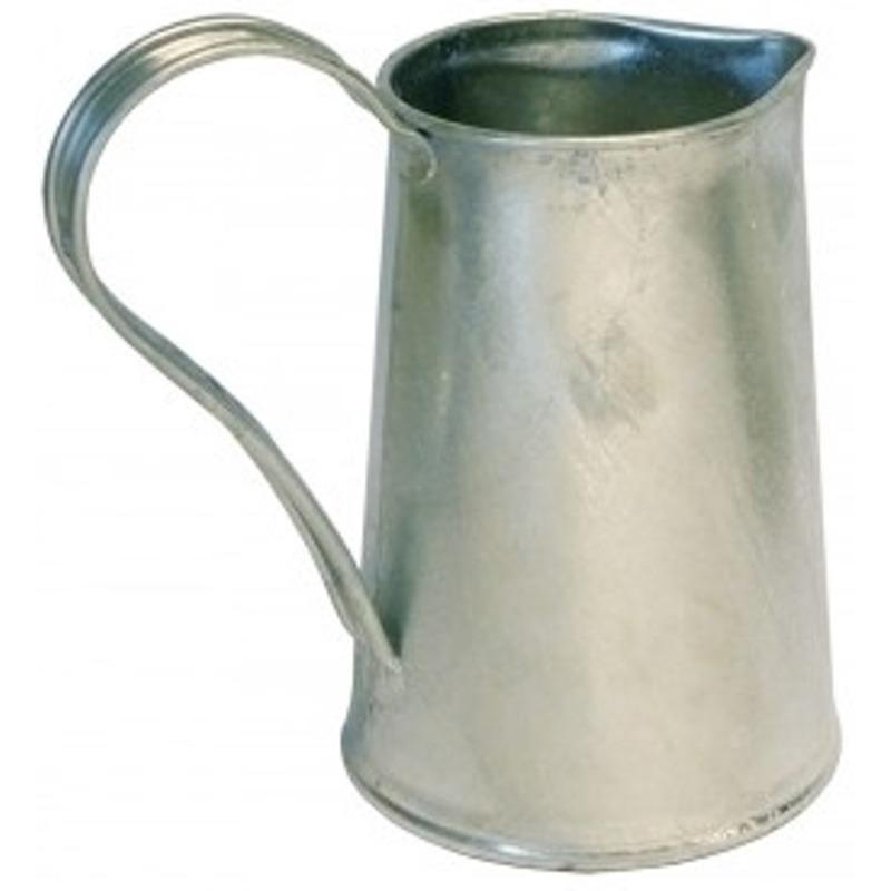 Zinken kan-vaas 1,8 liter
